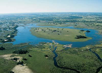 The Okavango Delta supports Delta